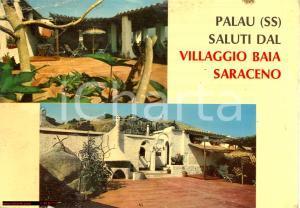 1975 PALAU (SS) Villaggio BAIA SARACENO Ristorante *Cartolina DANNEGGIATA FG VG