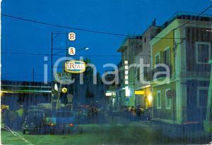 1975 FASANO (BR) Via DEL FARO a TORRE CANNE Notturno - FIAT 500 *Cartolina FG VG