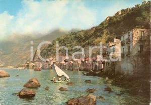1964 SCILLA (RC) Panorama con barca a vela *Cartolina FG NV