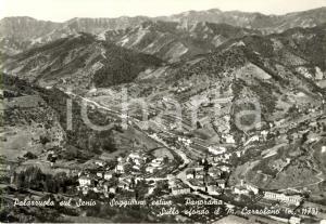 1964 PALAZZUOLO SUL SENIO (FI) Veduta panoramica vallata e monte CARZOLANO *VG