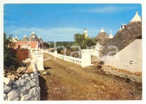 1973 FASANO (BR) Frazione SELVA Scorcio con trulli *Cartolina FG VG