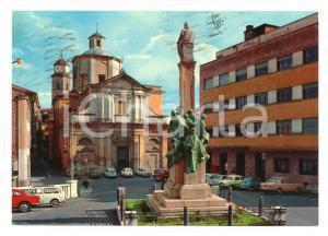 1972 FROSINONE Piazza della LIBERTA' con FIAT 110 R *Cartolina VINTAGE FG VG