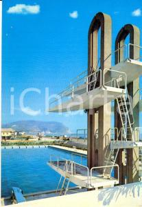 1970 NUMANA (AN) Trampolino Hotel SANTA CRISTIANA a MARCELLI *Cartolina FG VG