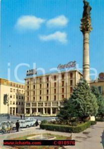 1964 LECCE Piazza S. ORONZO iNSEGNA Coca Cola ANIMATA FG VG