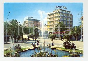 1977 SAN BENEDETTO DEL TRONTO (AP) Hotel ROXY lungomare *Cartolina ANIMATA FG VG