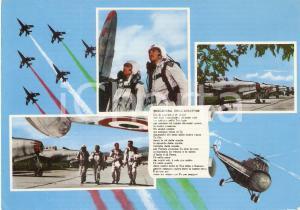 1980 ca AERONAUTICA MILITARE Preghiera dell'aviatore *Cartolina FG NV