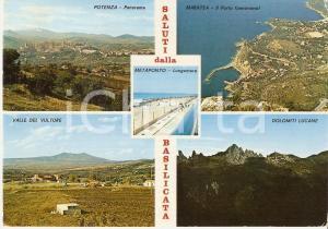 1979 BASILICATA Vedutine Dolomiti lucane e Valle del Vulture *Cartolina FG VG