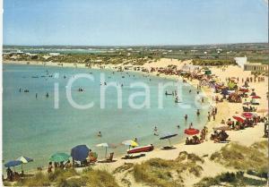 1966 PORTO CESAREO (LE) Lido Marechiaro - Le Dune *Cartolina FG VG