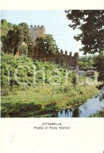 1971 CITTADELLA (PD) Profilo di Porta Vicenza *Cartolina FG VG