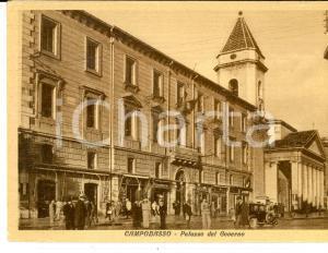 1950 ca CAMPOBASSO Palazzo del Governo *Cartolina postale FG NV