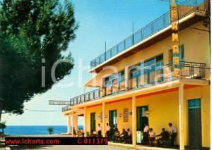1970 MARINA DI GIOIOSA IONICA (RC) Via del Lido HOTEL MIRAMARE Cartolina Vintage
