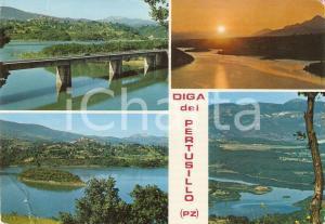 1975 POTENZA Diga del PERTUSILLO Vedutine *Cartolina FG VG