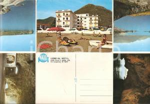 1975 ca PRAIA A MARE (CS) Mondial Hotel *Cartolina pieghevole FG VG