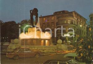 1975 ca L'AQUILA Fontana luminosa *Cartolina FG NV
