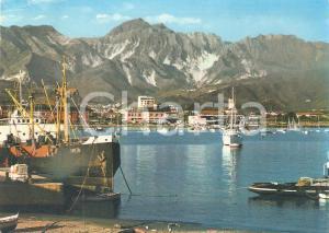 1964 MARINA DI CARRARA (MS) Nave Simeon attraccata al porto *Cartolina FG VG