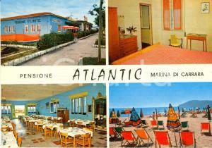 1970 ca MARINA DI CARRARA (MS) Pensione ATLANTIC *Cartolina VINTAGE FG NV