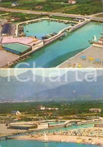 1969 MONTIGNOSO (MS) Frazione CINQUALE Panorama con Sporting *Cartolina FG VG