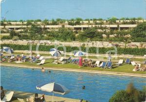 1986 OTRANTO (LE) Bagno in piscina al Villaggio Alimini VALTUR *Cartolina FG VG