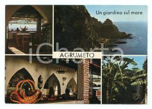 1975 RICADI (VV) Villaggio Camping AGRUMETO a CAPO VATICANO *Cartolina FG VG