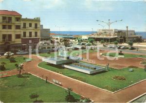 1968 LIDO DI CAMAIORE (LU) Piazza Matteotti e Ristorante Cristallo *Cartolina FG