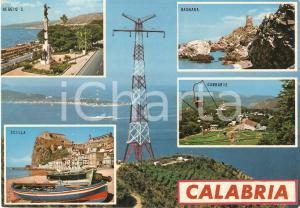 1975 ca CALABRIA Vedutine SCILLA Bagnara GAMBARIE Reggio Calabria *Cartolina FG