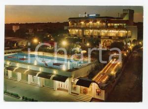 1972 PORTO CESAREO (LE) Club AZZURRO Hotel Dancing *Cartolina VINTAGE FG VG