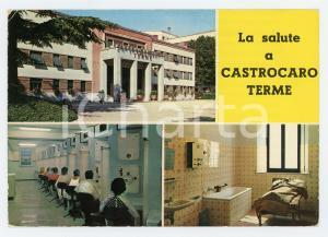 1977 CASTROCARO TERME (FC) Vedutine Stabilimenti termali *Cartolina VINTAGE