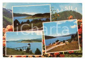 1978 COSENZA SILA Vedutine con LORICA e Lago ARVO *Cartolina postale FG VG
