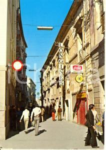 1985 ORISTANO Negozio LONGINES via UMBERTO I Coca Cola *Cartolina FG VG VINTAGE