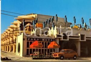 1970 ca MESSINA FIAT 127 davanti al MOTEL FARO *Cartolina FG NV VINTAGE