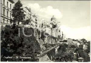 1961 CAGLIARI Veduta panoramica del terrapieno *Cartolina FG VG