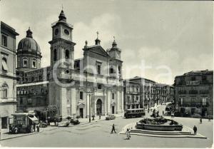 1965 CALTANISSETTA Piazza GARIBALDI e CAFFE' DUOMO *Cartolina FG VG