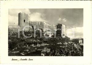 1955 SCIACCA (AG) CASTELLO LUNA tra le TERME SELINUNTINE *Cartolina FG VG