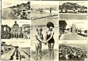 1950 ca CUPRA MARITTIMA (AP) Vedutine con stabilimento balneare SERENELLA *FG NV