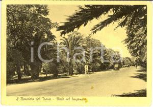 1949 SAN BENEDETTO DEL TRONTO (AP) Lungomare con vigile urbano in bici *FG VG