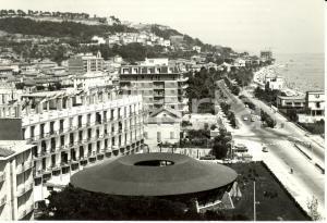 1966 GROTTAMMARE (AP) Panorama con hotel e lungomare * Cartolina ANIMATA FG VG