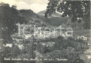 1956 BADIA PRATAGLIA (AR) Panorama generale *Cartolina postale FG VG