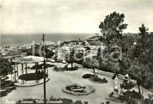 1960 PAOLA (CS) Veduta dell'interno Villa Comunale *Cartolina animata FG VG