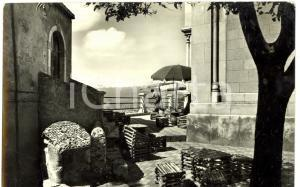 1971 CASTELMOLA (ME) Piazza DUOMO con Caffè TURRISI *Cartolina postale FG VG
