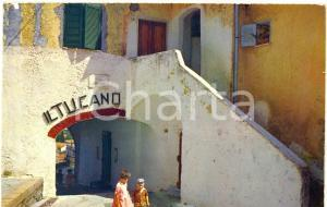 1972 SAN FELICE CIRCEO (LT) Via ANTICA PORTA - SCORCIO *Cartolina VINTAGE FG VG