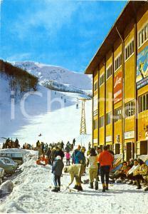 1976 ROCCARSO (AQ) Cabinovia PIAN DELL'AREMOGNA *Cartolina FG VG VINTAGE