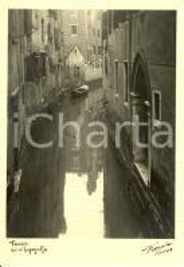 1941 VENEZIA Rio di Ruga Giuffa - Fotografo FIORENTINI *Cartolina FG NV