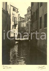 1941 VENEZIA Rio della STUA - Immagine FIORENTINI *Cartolina FG NV