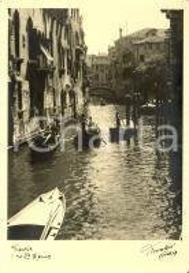 1941 VENEZIA Rio di Santa Marina - fotografia di FIORENTINI *Cartolina FG NV