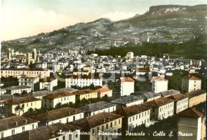 1956 ASCOLI PICENO Panorama di Colle SAN MARCO *Cartolina FG VG