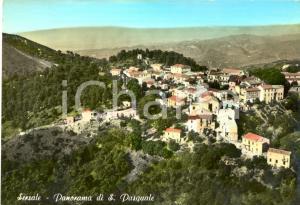 1950 ca SERSALE (CZ) Panorama di SAN PASQUALE *Cartolina postale FG NV