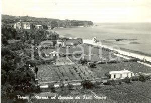 1965 TROPEA (VV) Marina col Convento dei Frati Minori *Cartolina FG VG