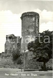 1950 ca NEPI (VT) Veduta del Forte dei BORGIA *Cartolina postale FG NV