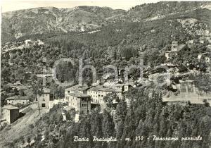 1956 POPPI (AR) Panorama parziale di BADIA PRATAGLIA *Cartolina postale FG VG