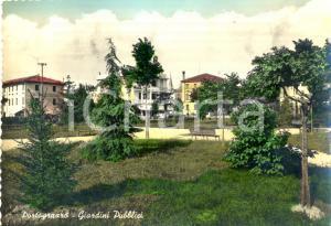 1959 PORTOGRUARO (VE) Veduta dei Giardini pubblici *Cartolina postale FG VG